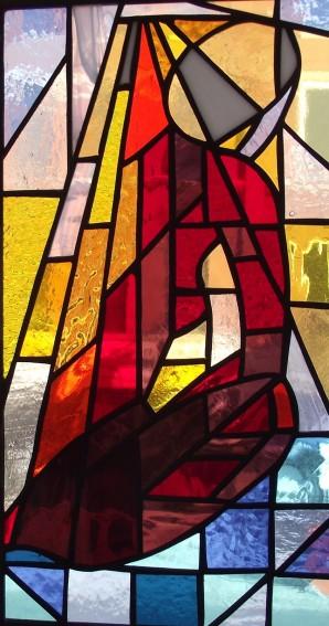 """Stain Glass # 2, 7"""" x 14"""""""
