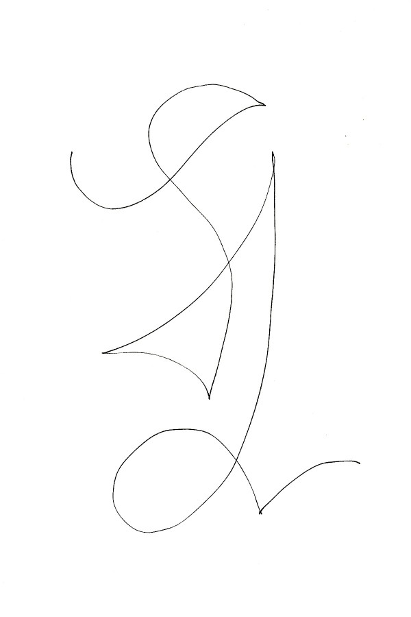 Simple Line Artwork : It all starts with a simple line charlie rees