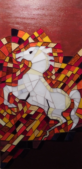 Wild Horse, Wall Panel