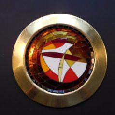 Kor. Brass Plate #3